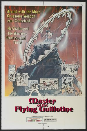 Master of the Flying Guillotine, daily grindhouse, cult movie mania