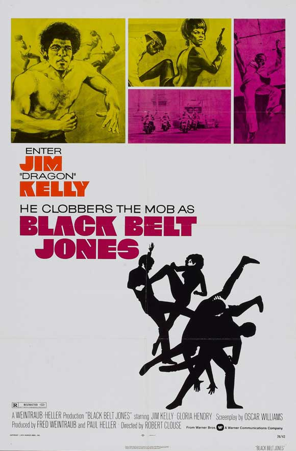 BLACK BELT JONES, cult movie mania, daily grindhouse