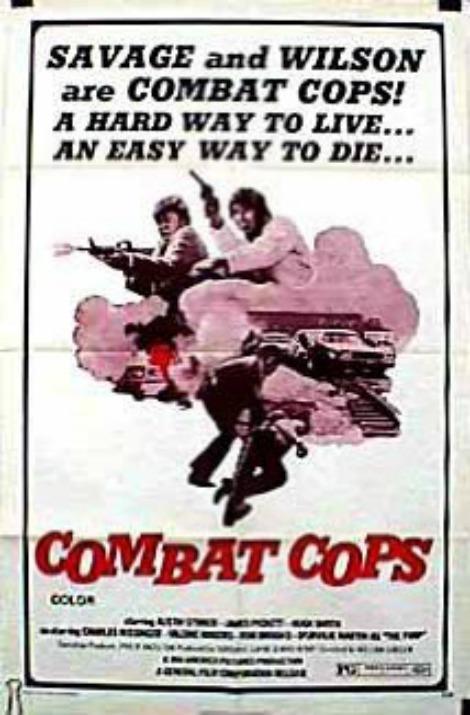 COMABT COPS POSTER