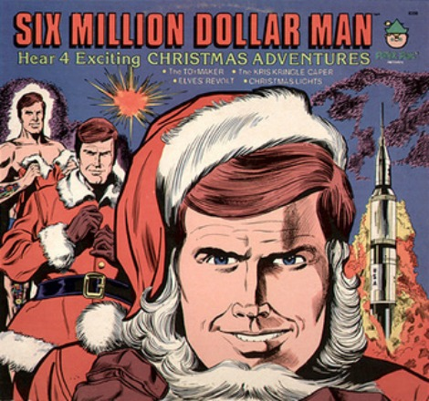 SIX MILLION DOLLAR MAN CHRISTMAS ADVENTURES ALBUM