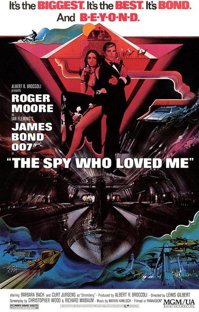Spy Loved Me Poster