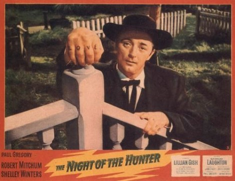 night of the hunter poster
