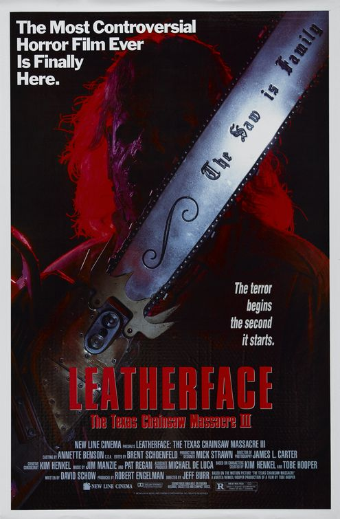 Leatherface Texas Chainsaw Massacre III (1990)