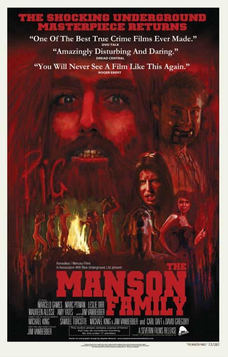 manson family poster