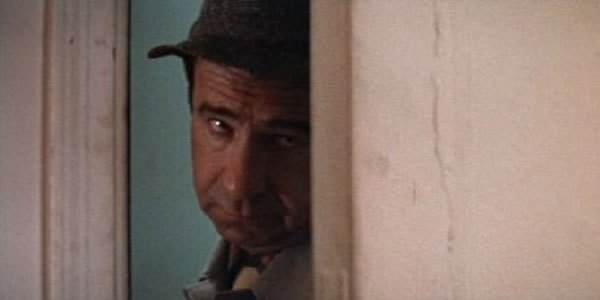 Walter Matthau's doorway face.