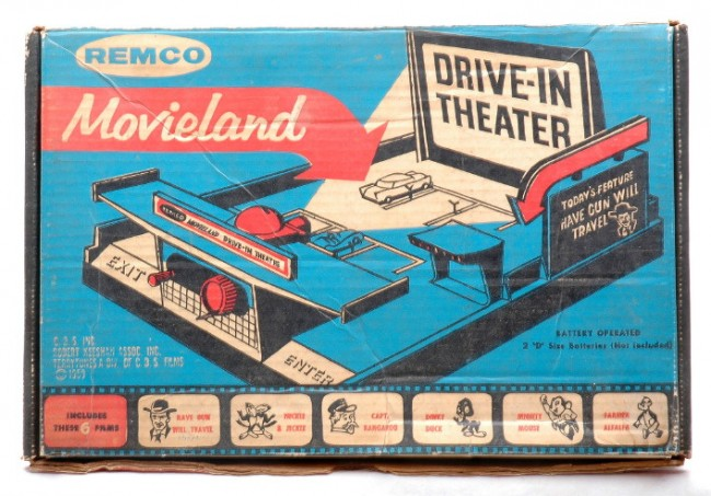 remco movieland drive-in