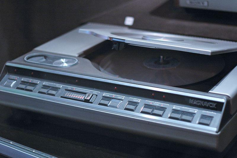 Magnavox_Laserdisc_player