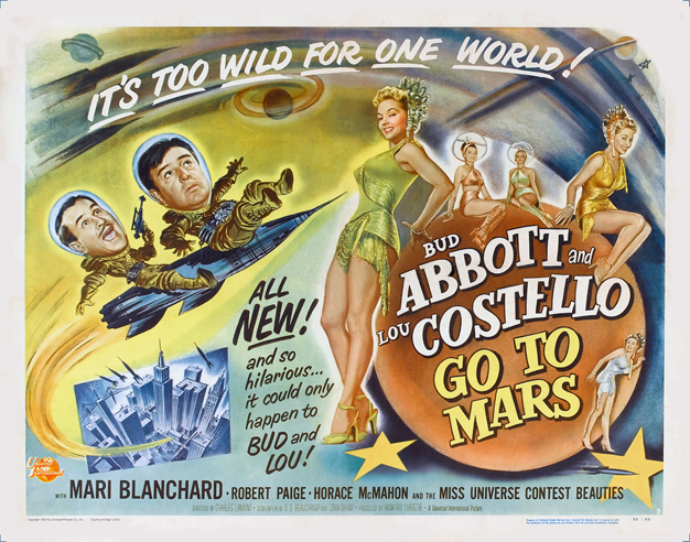 A&C GO TO MARS Poster