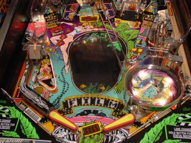 CREATURE LOWER PLAYFIELD