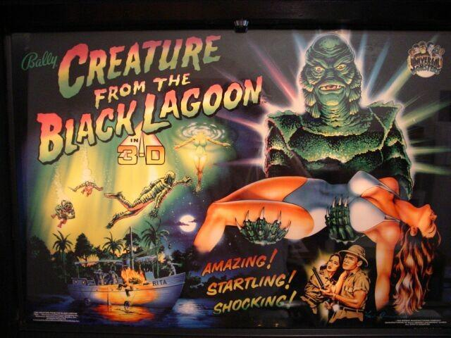 CRETURE FROM THE BLACK LAGOON