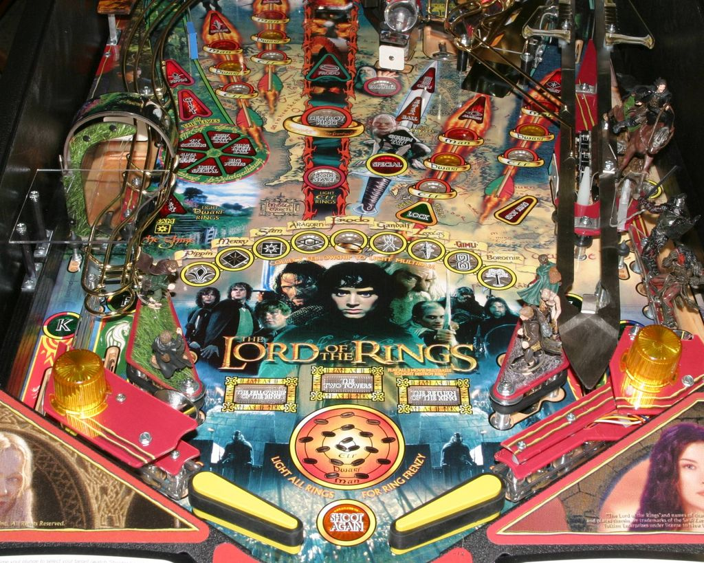 Lord Of The Rings Lower Playfield