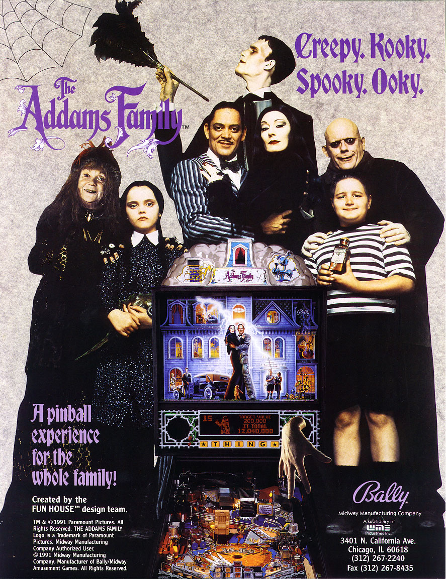 THE ADAMS FAMILY FLYER