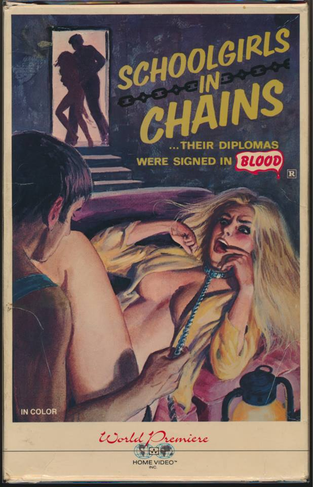 schoolgirl in chains