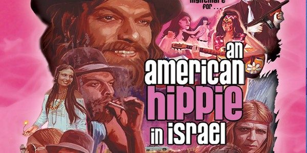 DAILY GRINDHOUSE PODCAST EP.4: AN AMERICAN HIPPIE IN ISRAEL (1972) SPECIAL GUEST: BOB MURAWSKI