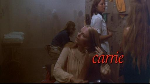 CARRIE THE TITLE SEQUENCE