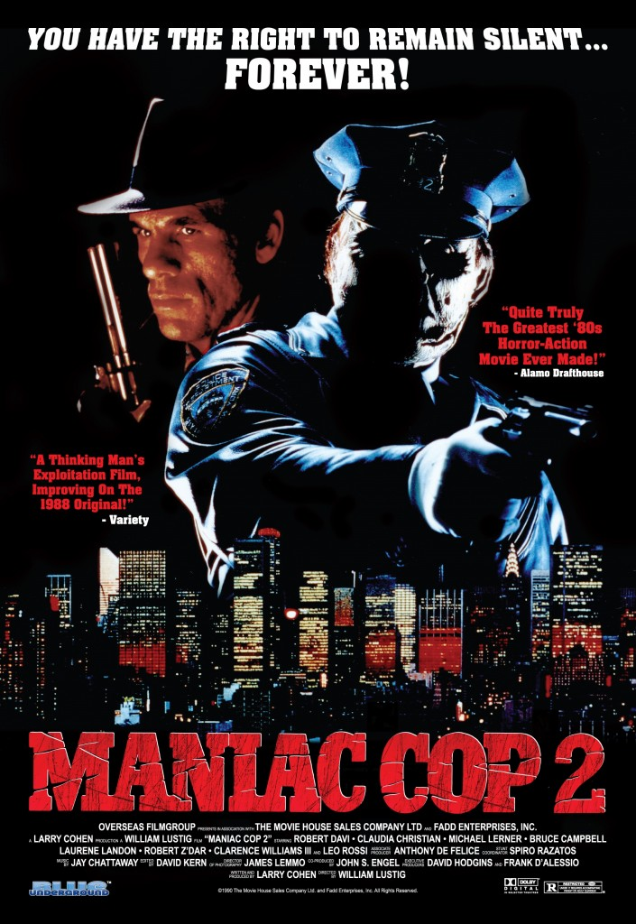 MANIAC COP 2 Theatrical Poster (3)
