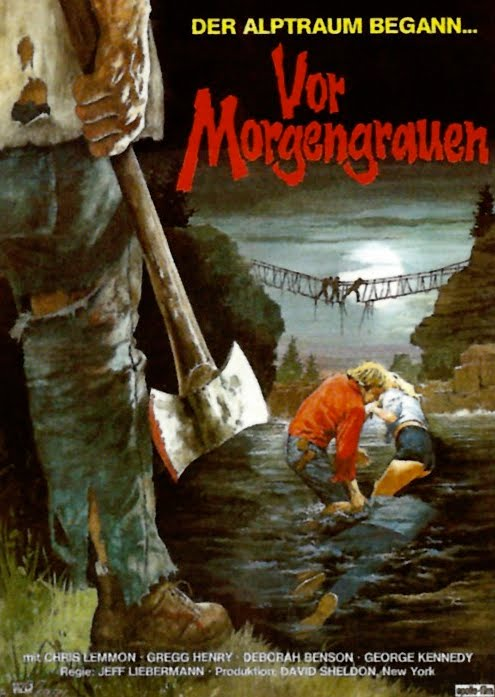 just before dawn german poster