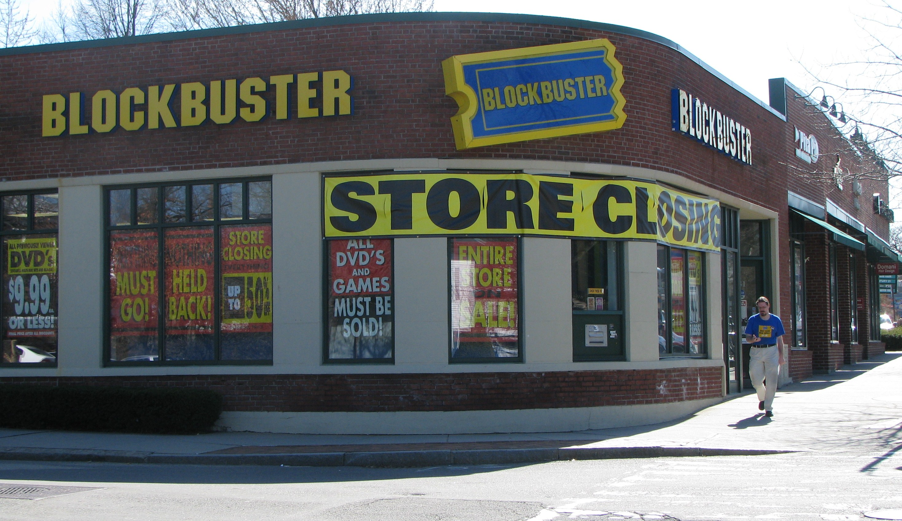 block buster The latest tweets from the last blockbuster (@loneblockbuster) located  between 3rd and main in the oak lawn shopping center not part of blockbuster .