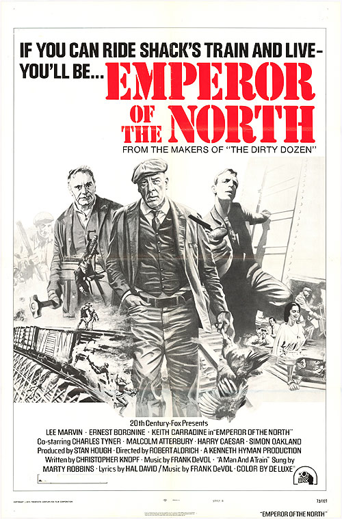 DAILY GRINDHOUSE PODCAST EP12: EMPEROR OF THE NORTH (1973) SPECIAL GUEST: AUTHOR DWAYNE EPSTEIN