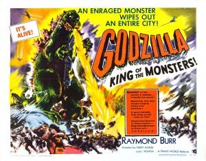 Godzilla Lobby Card
