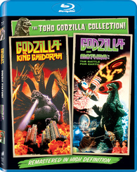 GODZILLA VS. KING GHIDORAH AND VS. MOTHRA