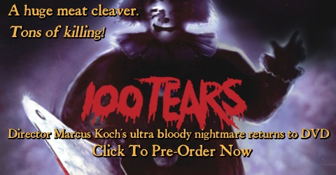 100 TEARS (DIRECTOR'S CUT) DVD