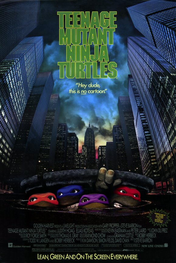 TEENAGE MUTANT NINJA TURTLES (1990(