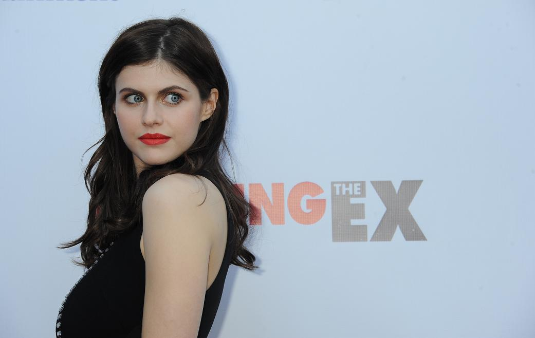Alexandra Daddario at the The Los Angeles Special Screening of Burying The Ex.