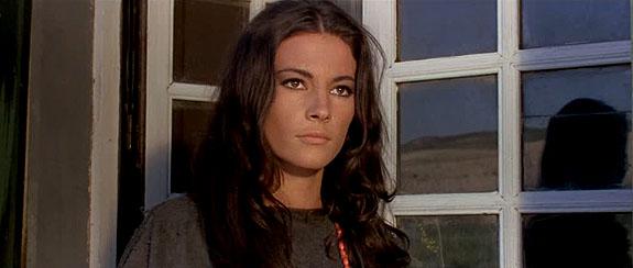 Nicoletta Machiavelli dans Navajo Joe (1966), de Sergio Corbucci