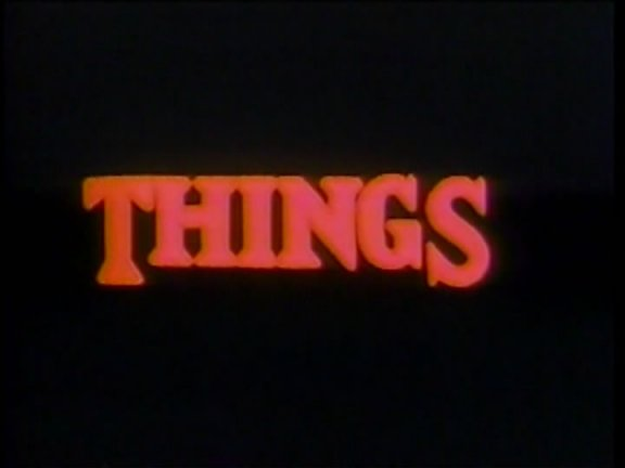 [NO-BUDGET NIGHTMARES] PODCAST #66: THINGS (1989)