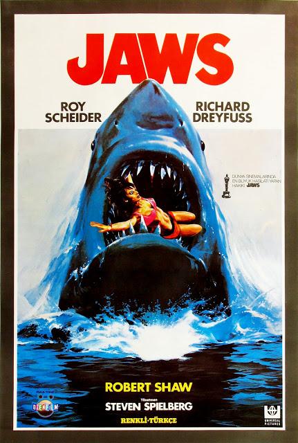 Turkish Jaws Movie Poster