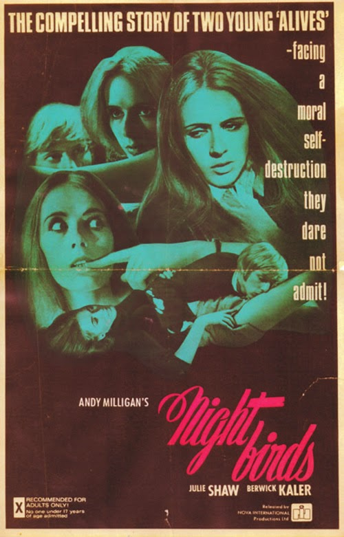 NIGHTBIRDS (Andy Milligan, 1970)