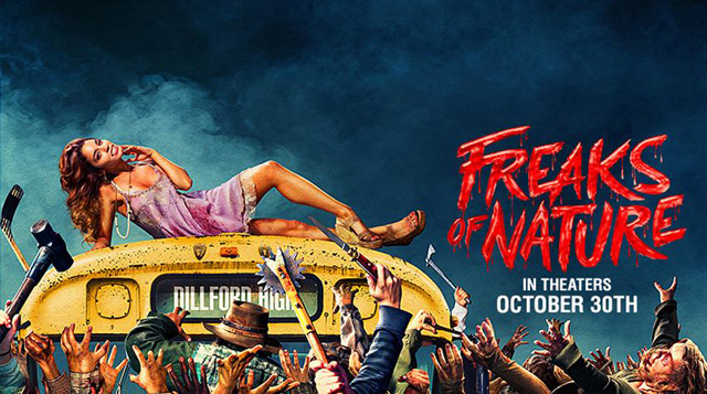 [TRAILER] FREAKS OF NATURE (2015)