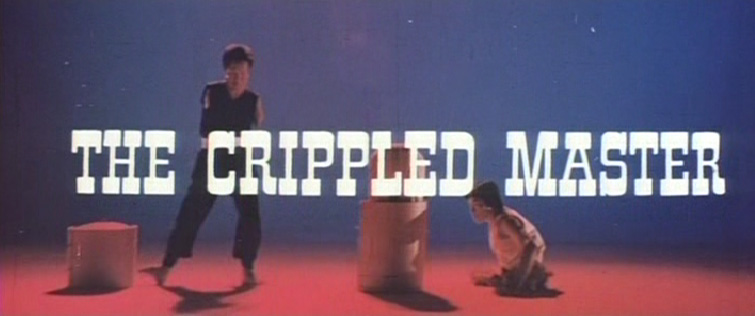 THE CRIPPLED MASTERS