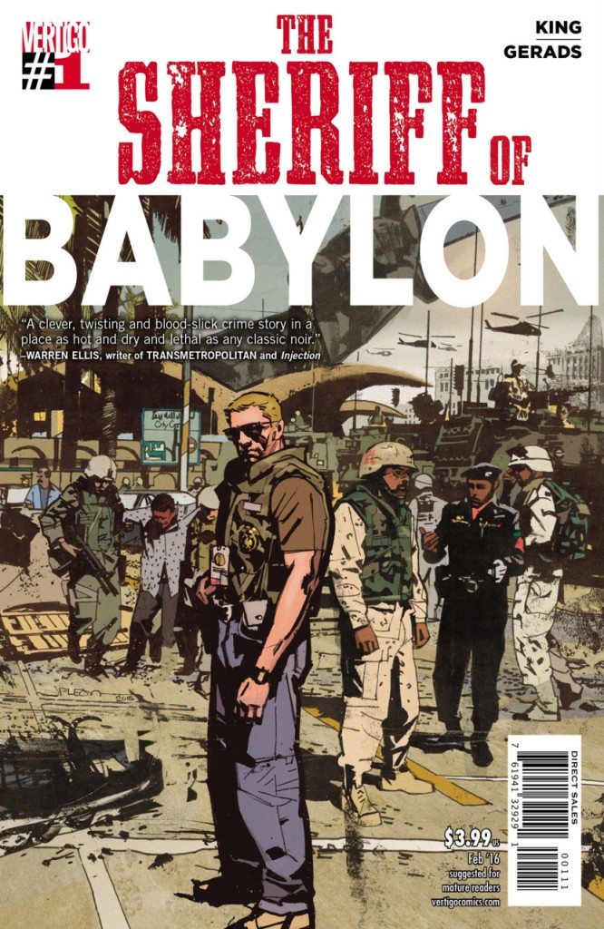 THE SHERIFF OF BABYLON #1, cult movie mania, daily grindhouse, trash film guru, dailygrindhouse.com, cultmoviemania.com