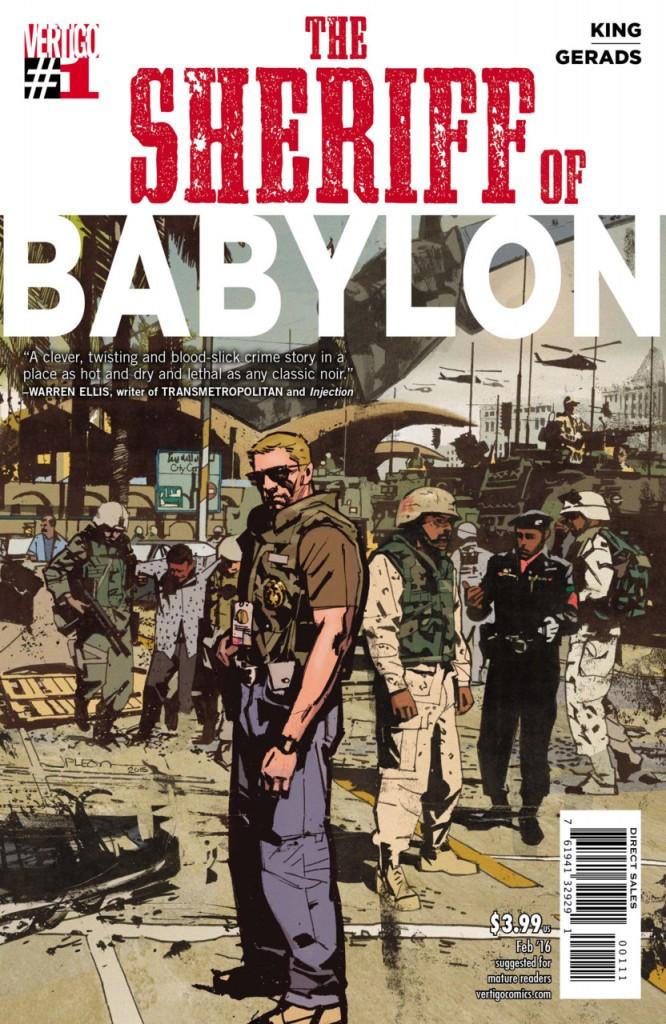 THE SHERIFF OF BABYLON #1, cult movie mania, daily grindhouse, trash film guru, dailygrindhouse.com, cultmoviemania.com
