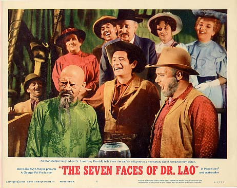 7 FACES OF DR. LAO daily grindhouse cult movie mania