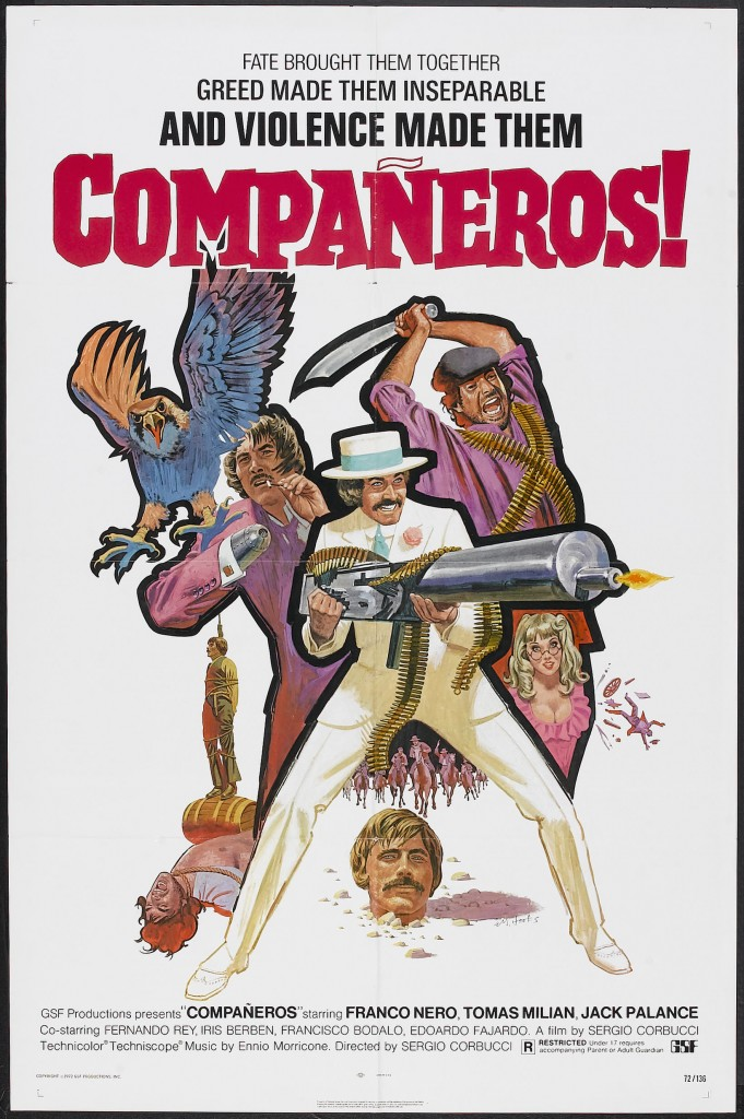 COMPAÑEROS! movie daily grindhouse cult movie mania jon abrams