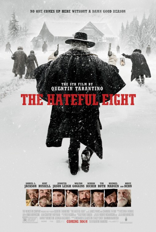 The Hateful Eight, ennio morricone, daily grindhouse, cult movie mania