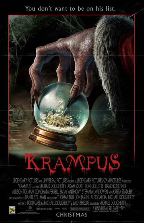 krampus Michael Dougherty dailygrindhouse.com daily grindhouse cult movie mania cultmoviemania.com
