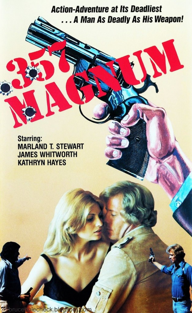 357 Magnum US World Video VHS Front