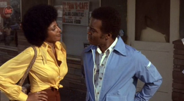 Pam Grier & Terry Carter - Foxy Brown (1974) 2