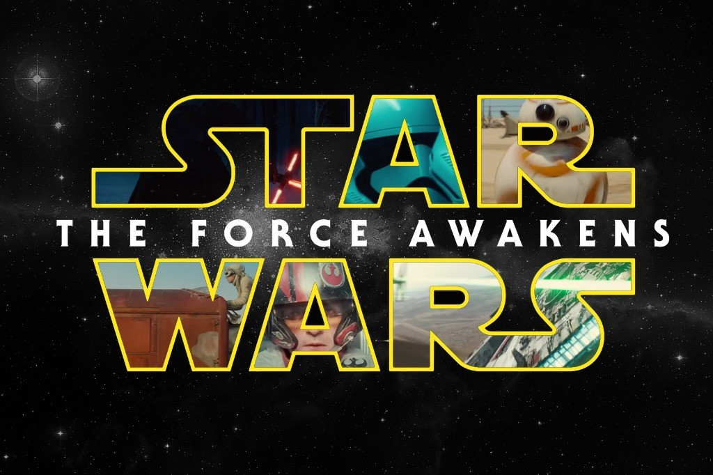 [THE INTERNET'S FINEST HOUR] THE STAR WARS LOGO AWAKENS