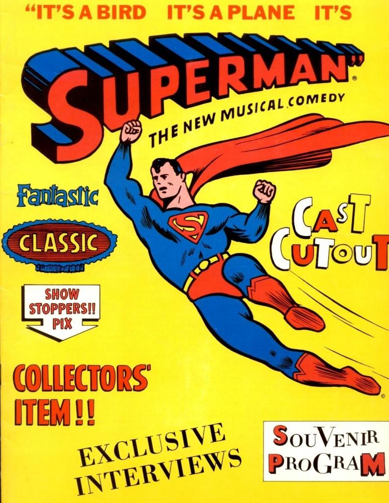 SupermanMusicalSouvenirProgram