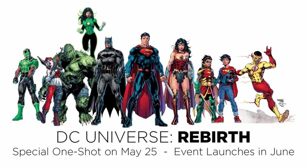 [GRINDHOUSE COMICS COLUMN] DC UNIVERSE: REBIRTH #1 (WARNING: SPOILERS AHEAD!)