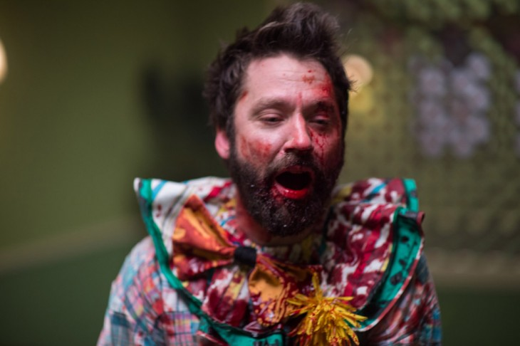 GRAVY-Michael-Weston-bloody-clown-suit-e1443718635995