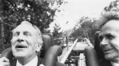 [THE INTERNET'S FINEST HOUR] VINCENT PRICE RIDES A ROLLER-COASTER!