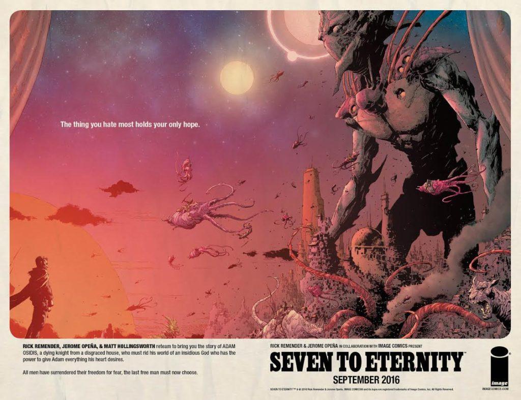[GRINDHOUSE COMICS COLUMN] SEVEN TO ETERNITY #1