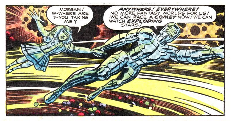[GRINDHOUSE COMICS COLUMN] JACK KIRBY'S 'SILVER STAR' #1