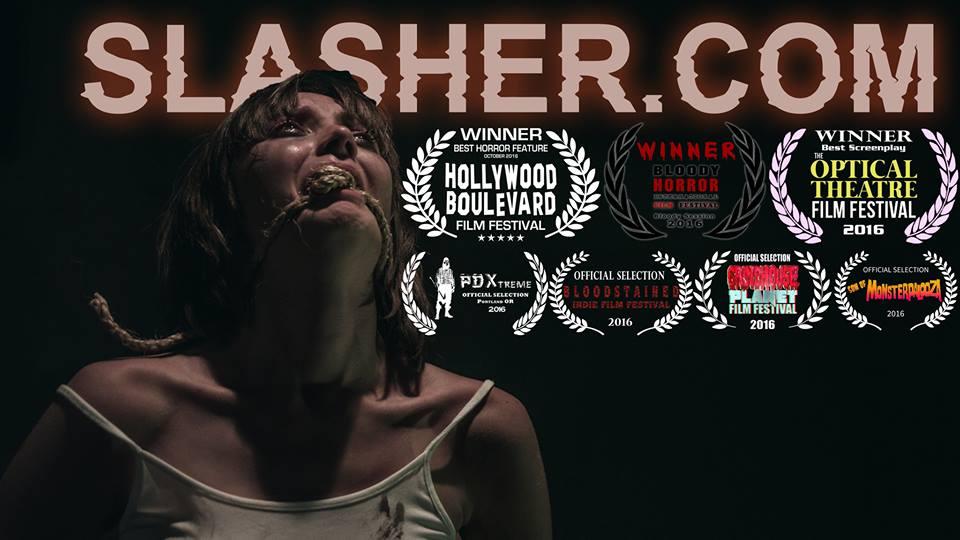 [TRAILER!] SLASHER.COM (2016)